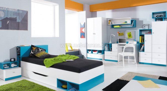 За практичен и уютен спален кът изберете легло от МДФ за вашето дете