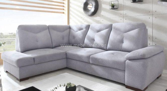 Идилия в хола с ъглов диван на символична цена